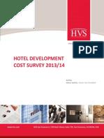 HVS - Hotel Development Cost Survey 20132014