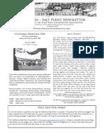 Summer 2009 Fort Ross Interpretive Association Newsletter
