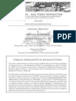 Fall 2008 Fort Ross Interpretive Association Newsletter
