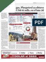 Sin Exportar Gas Plus Petrol Ya Obtuvo Ganancias en El Lote 56