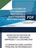 Soluciones de Contabilidad Electronica Para Pequeñas y Medianas Empresas