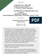 78 Fair empl.prac.cas. (Bna) 503, 74 Empl. Prac. Dec. P 45,597 Cynthia C. Lissau v. Southern Food Service, Incorporated Cesar Castillero, Equal Employment Opportunity Commission, Amicus Curiae, 159 F.3d 177, 4th Cir. (1998)
