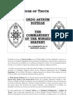 Ordo Astrum Sophiae - XX