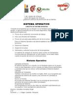 Concepto de Sistema Operativo