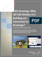 Why 3D CAD Models Are Converted to 2D Drawings?