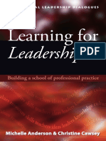 Learning for Leadership