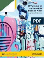 Turismo en La Ciudad Anuario 2013