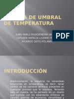 Alarma de Umbral de Temperatura
