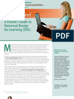 A Parent's Guide to Universal Design for Learning (UDL)