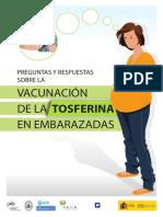 Vacunacion Tosferina Embarazadas