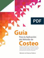 Guía Para La Aplicación Del Método de Costeo Dec2014