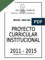 Esquema Del Proyecto Curricular