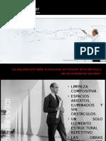 Oscar Niemeyer y Lucio Costa