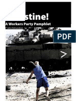 Free Palestine! Workers Party (NZ) Pamphlet