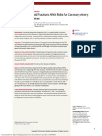 Association of Lipid Fractions With Risks for Coronary Artery Disease and Diabetes