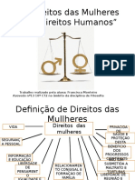 Os direitos das Mulheres como direitos Humanos (1).pptx