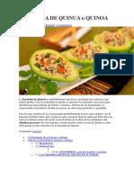 Ensalada de Quinua o Quinoa