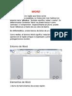 Elementos Basicos Que Componen Word 2010