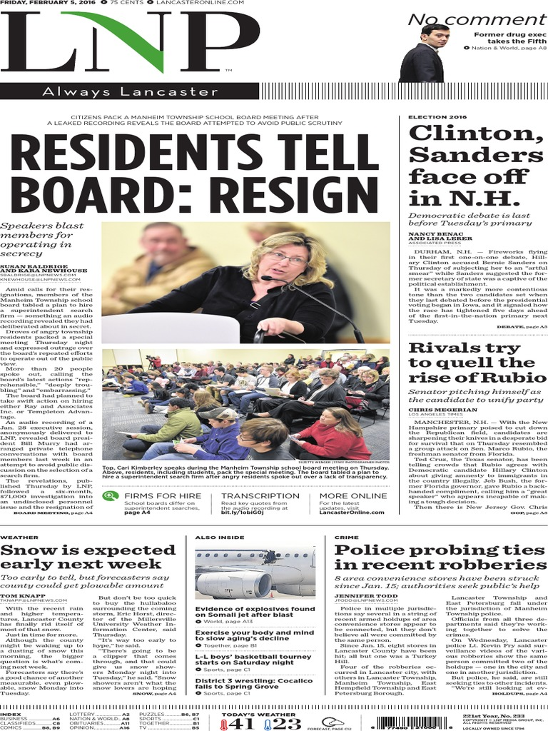 1ecdd765 LNP: Residents to Board: Resign, Feb. 5, 2016   Cattle   Dairy Cattle