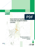 PLANO DIRETOR DE TRANSPORTE URBANO E MOBILIDADE  DO DISTRITO FEDERAL E ENTORNO