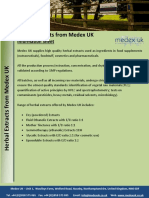 Herbal Extracts From Medex UK
