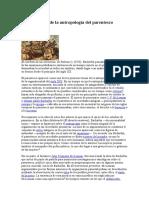 Breve Historia de La Antropología Del Parentesco
