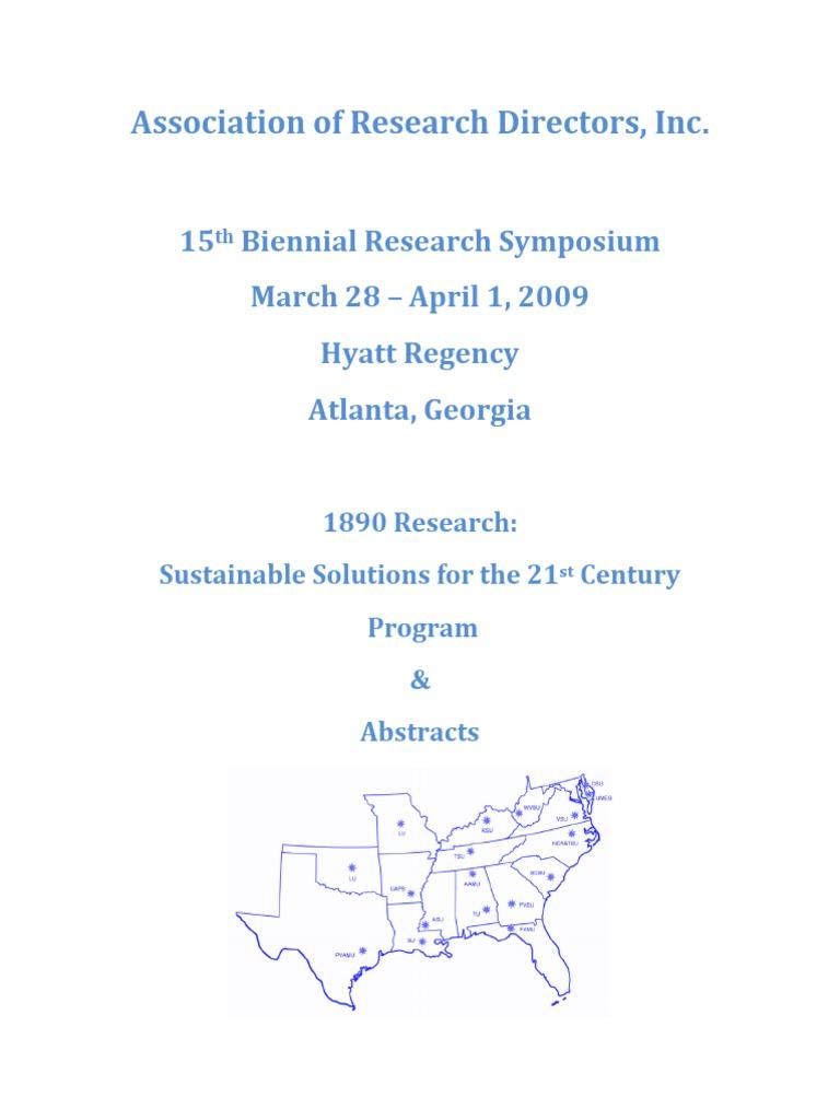 15th Biennialard Symposium Proceedings Soybean Agriculture