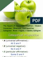 Syllogistic Logic