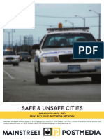 Most Dangerous City — Mainstreet/Postmedia poll