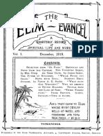 Elim Evangel 1912 Vol. 1