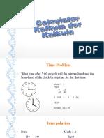 Calculator techniques 2