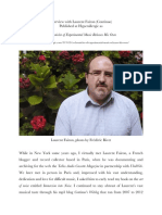 Interview with Laurent Fairon