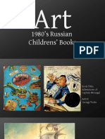 Art of ten 1980s Russian Childrens Books