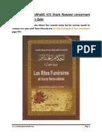 Albani vs Imam Nawawi Lors Recite Qur'Ân Lors Qabr