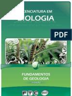 Licenciatura em Biologia - Fundamentos de Geologia