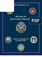 Doctrine Joint Nuclear Operations