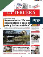 Diario La Tercera 16.08.2016