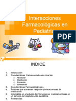 Interacciones Farmacológicas en Pediatría