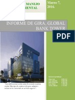 Informe de Gira, Global Proyecto LEED- Completo en PDF