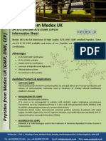 Peptides From Medex UK