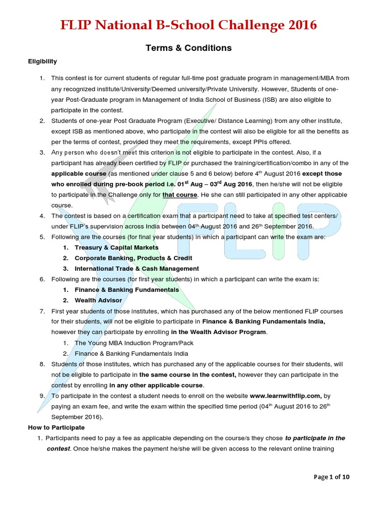 Flip certification guidlines voucher test assessment 1betcityfo Image collections