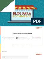 eBook Blog Para Ecommerce