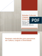 Estudos Culturais, Línguas e Diversidade (1)