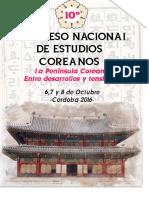 3º Circular - X Congreso Nacional de Estudios Coreanos
