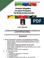 Evolução Ortográfica Da Língua Portuguesa