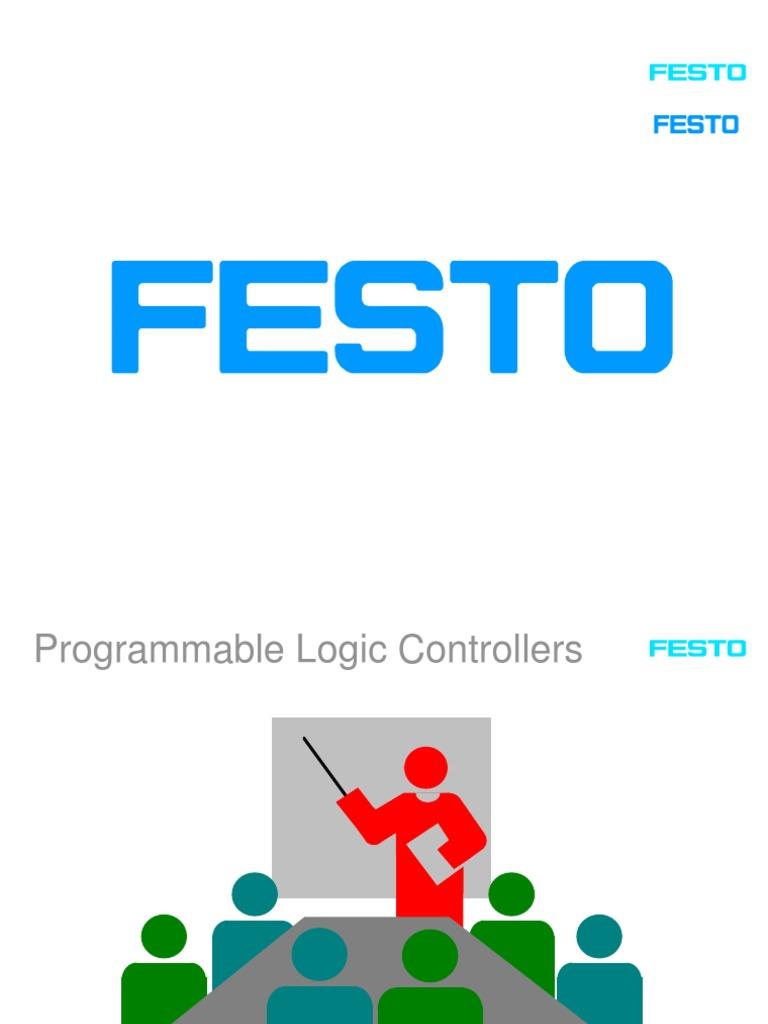 festo basic plc programmable logic controller cylinder engine rh es scribd com Festo Part Search Festo Tubing Suppliers