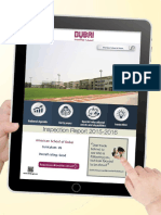 KHDA - American School of Dubai 2015 2016