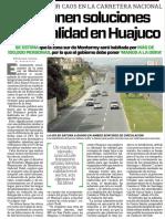 16-08-16 Proponen soluciones para vialidad en Huajuco