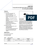 LED 7707 Driver Boost Regulator