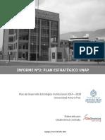 Plan Estratégico UNAP 2014 2020